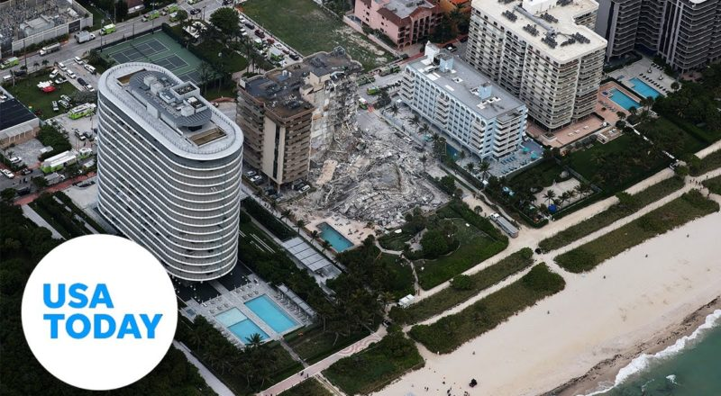 Miami officials hold news conference after building collapse | USA Today 1