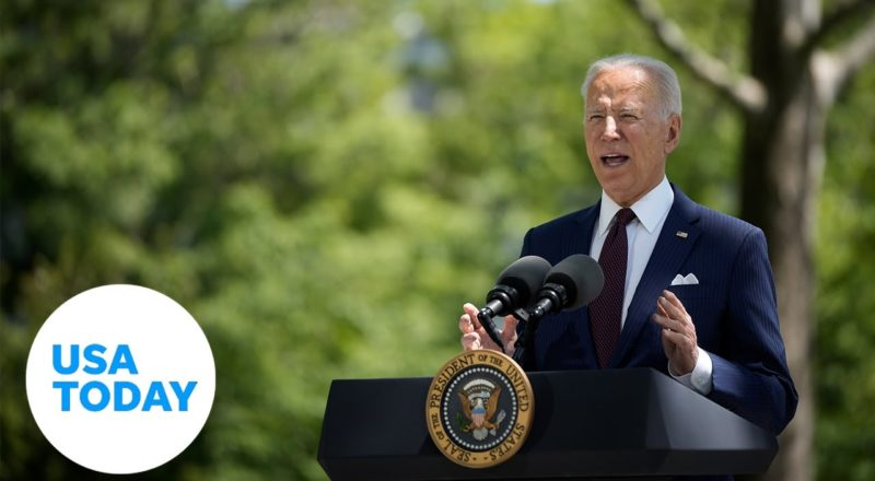 President Biden delivers remarks in Raleigh, NC as he visits frontline workers | USA TODAY 1