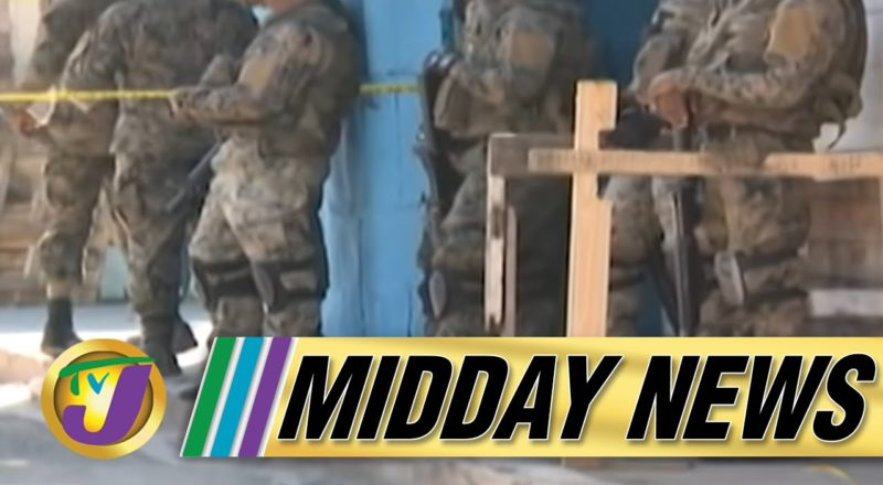 Two Soldiers Injured & a Man Dead in St. Catherine Jamaica   TVJ Midday News - June 24 2021 1