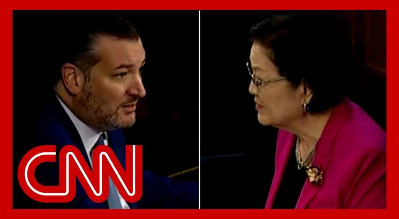Ted Cruz accused of 'mansplaining' as hearing goes off the rails 2