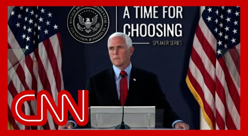 Hear Mike Pence call attempt to decertify election 'un-American' 1