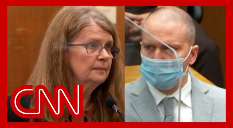Derek Chauvin's mom speaks at sentencing 1