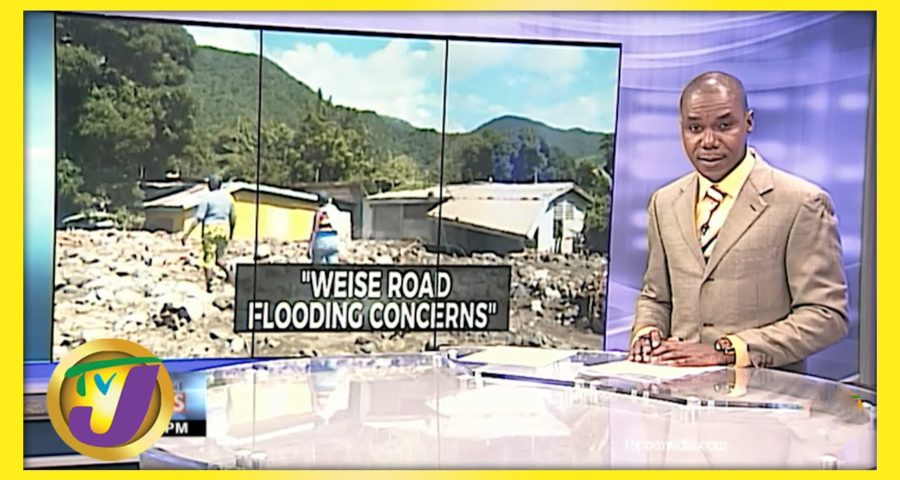 Flooding Concerns in Weise Road, Bull Bay Jamaica | TVJ News - June 1 2021 1