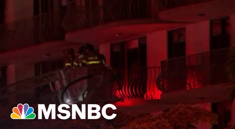 Rescuers Search For Survivors After Florida Apartment Building Collapses 1
