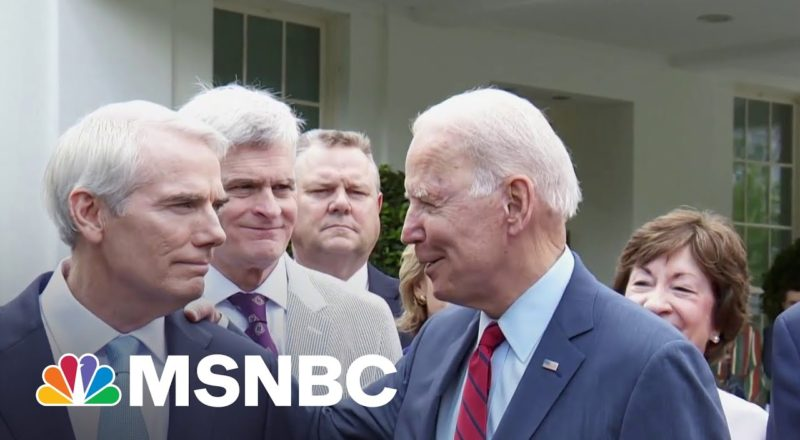 Chuck Todd: Senators 'Discovered Water' Announcing Infrastructure Deal 1