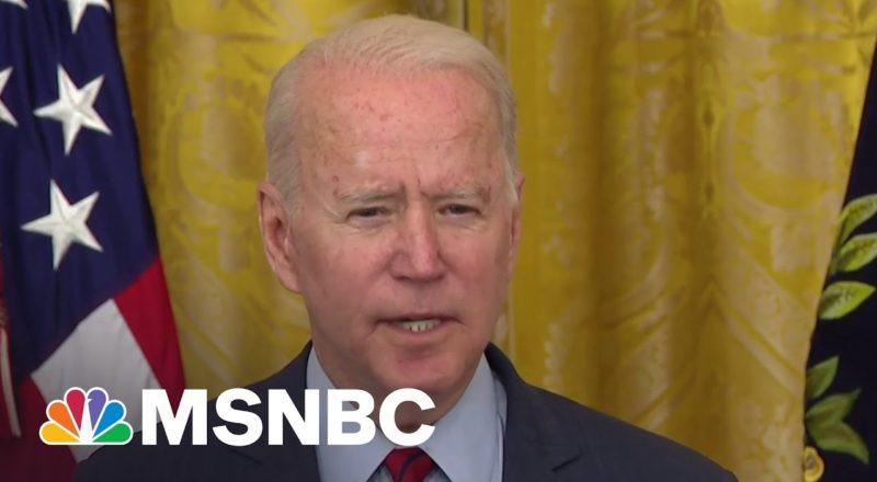Biden: Infrastructure Deal Will Create Millions Of American Jobs 9