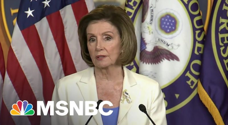 'Afraid Of The Truth': Pelosi Flexes On McConnell And Trump With MAGA Riot Probe 9