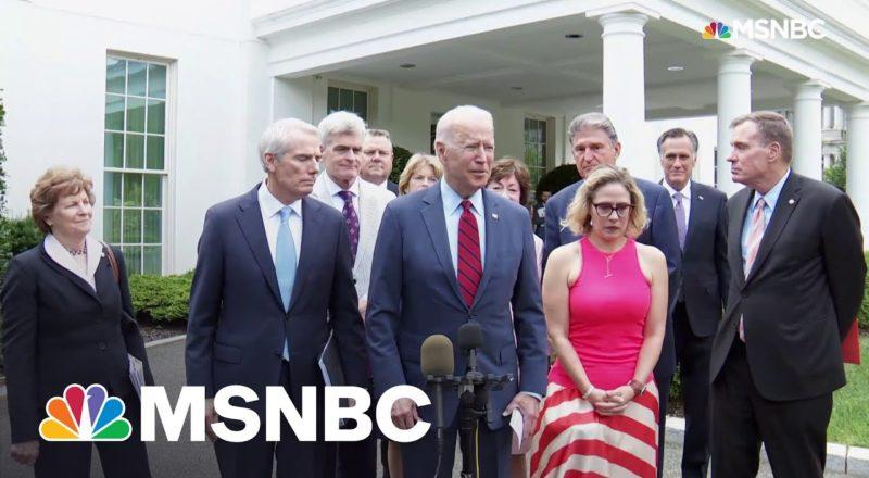 Democratic Unity On Infrastructure Bigger News Than Bipartisan 'Framework' 5