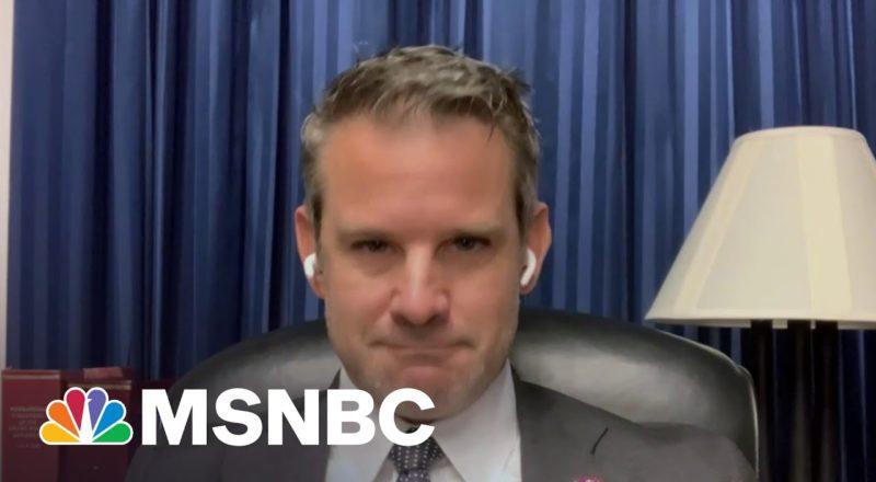 Rep. Kinzinger Says He Hasn't Spoken With Leader McCarthy In Months 1