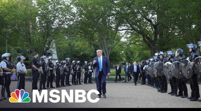 NYT: Trump Admin. Considered Using Military On Floyd Protests 6