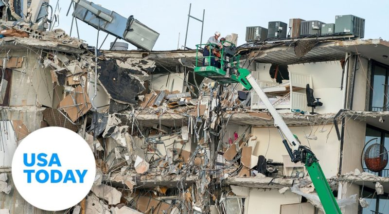 Miami-area condo collapse: At least four dead, many still missing | USA TODAY 6