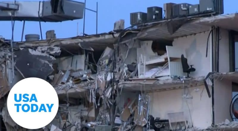 Surfside residents share grief over collapse | USA TODAY 2