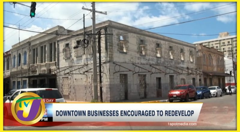 Redeveloping Downtown Kingston in Jamaica   TVJ Business Day - June 24 2021 9