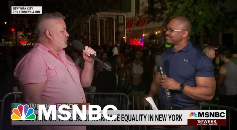 Celebrating 10 Years Of Legal Same Sex Marriage In New York | MSNBC 9