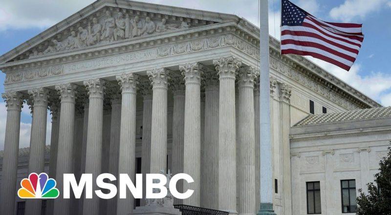 Supreme Court Declines To Hear Transgender Bathroom Case | MSNBC 1