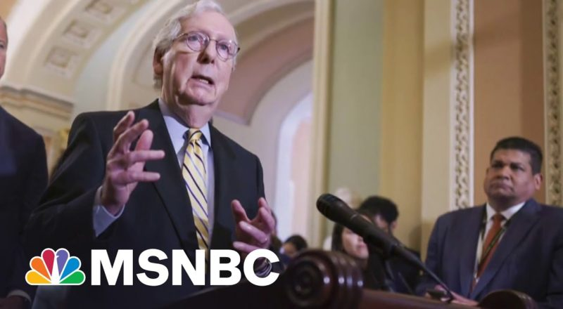 McConnell 'Trying To Make The Most Of' Biden's Infrastructure Walk-Back | MSNBC 7