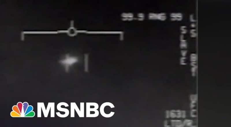 U.S. Cannot Explain 143 UFO Reports | MSNBC 1