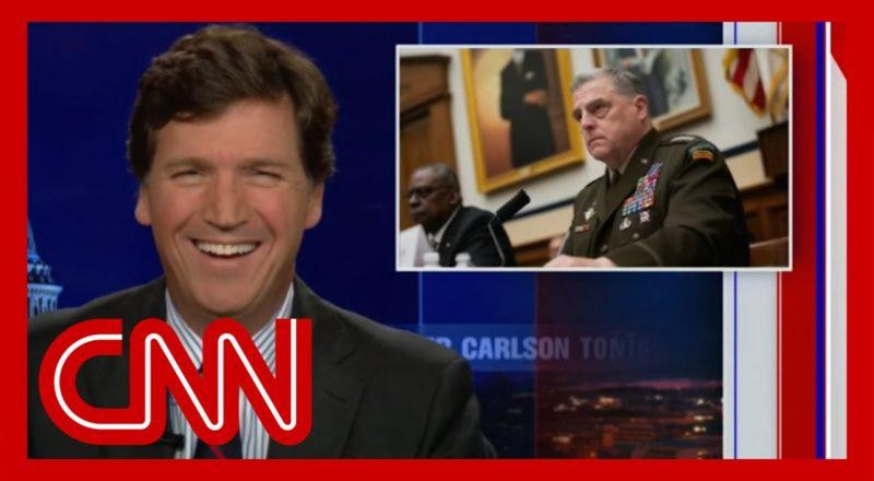 Tucker Carlson calls America's top general a stupid pig 6
