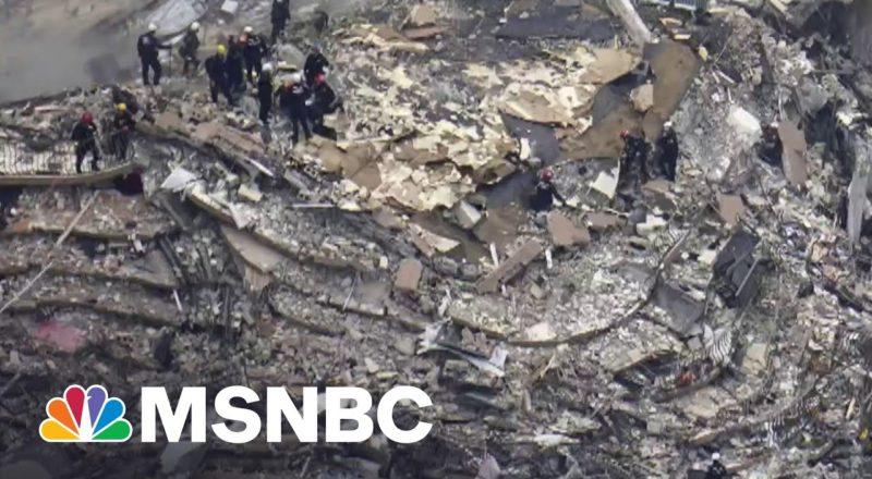 Perilous Search Continues At Collapsed Miami Condo 4