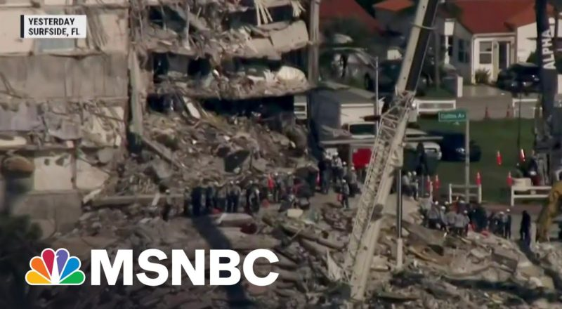 Search For Survivors In Condo Collapse Continues Into Sixth Day 1