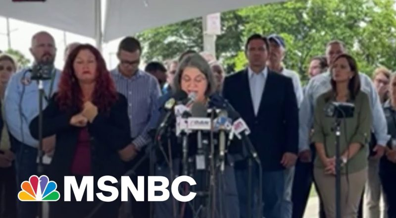 """Miami-Dade Mayor: 'We Have Been Able To Notify The 11 Families."""" 6"""