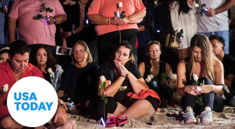 Vigil held for the dead, missing in Miami-area condo building collapse | USA TODAY 1