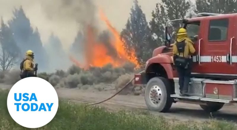 The Lava Fire has now torched more than 13,000 acres in northern California | USA TODAY 1