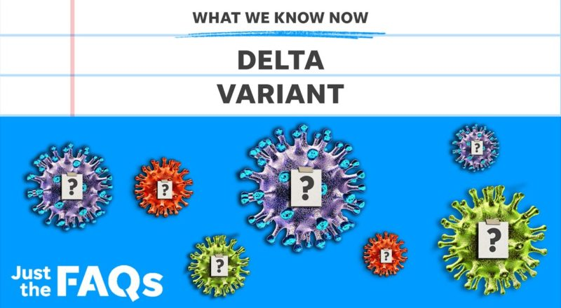 Delta variant: How it affects mask-wearing, vaccinated people | Just the FAQs 2