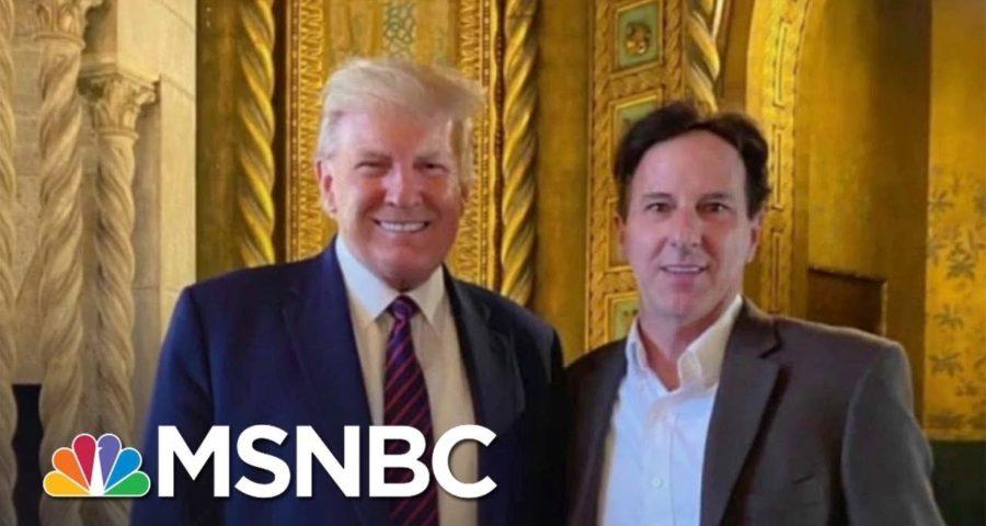 Report: Trump Met Man Who Helped Organize 'Patriot Caravans' On Jan. 6 1