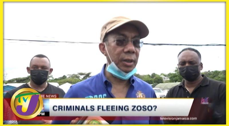 Are Criminals Fleeing ZOSO? | TVJ News 1