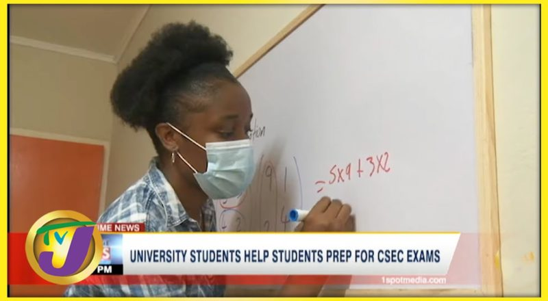 University Students Help High School Students Prep for CSEC Exams | TVJ News - June 28 2021 1