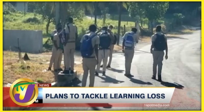 Gov't Plans to Tackle Learning Loss in Jamaica | TVJ News - June 29 2021 1