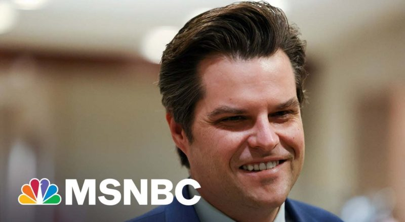 Rep. Gaetz Being Investigated For Possible Obstruction Of Justice 1
