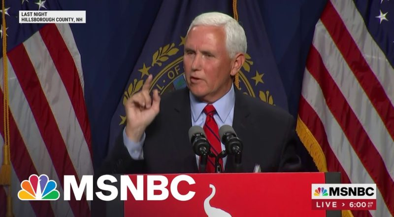 Pence Says He And Trump May Never See 'Eye To Eye' On Jan. 6 1