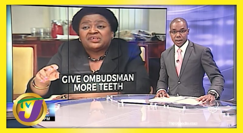 Give Jamaica's Political Ombudsman More Authority | TVJ News - June 2 2021 1