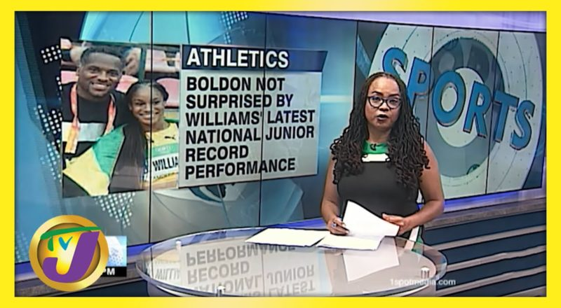 Coach Ato Boldon not Surprised by Briana Williams Fast Times - June 3 2021 1