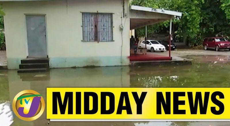 Jamaica's Health Centre Under Water But No Rain | TVJ Midday News - June 4 2021 1