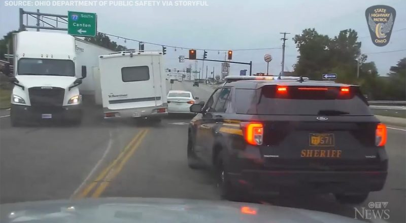 Ohio police intercept RV driver after lengthy chase 1