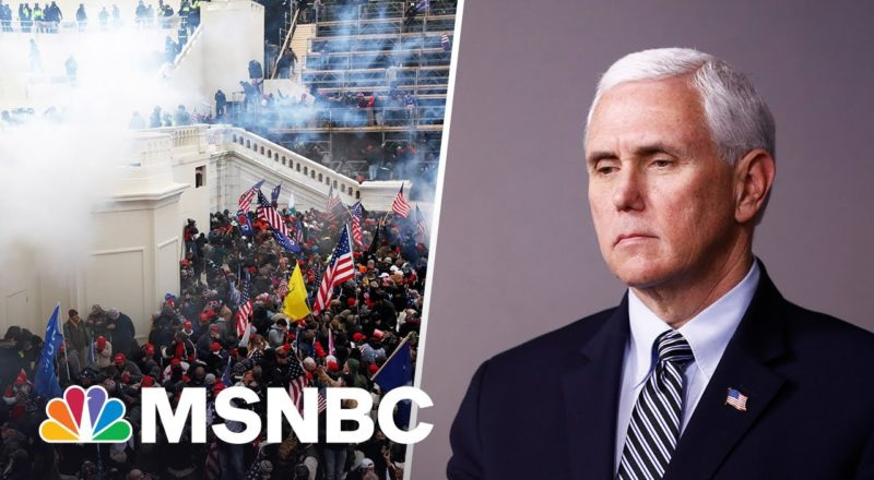 'Hang Mike Pence' Crowd Puts Pence And Trump At Odds 1