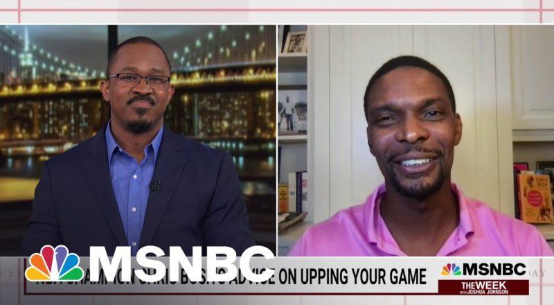 NBA Champion Chris Bosh's Advice On Upping Your Game 5