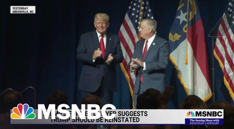 Donald Trump Pushes Election Fraud Lie in North Carolina Speech 1