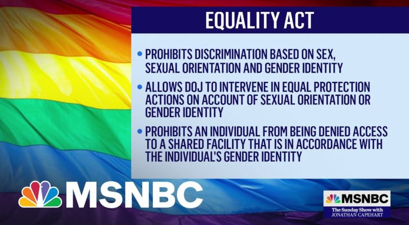 Senate Expected To Vote on Equality Act At The End Of The Month 1