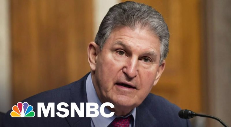 Sen. Manchin Says He Won't Vote In Favor Of The For The People Act 1