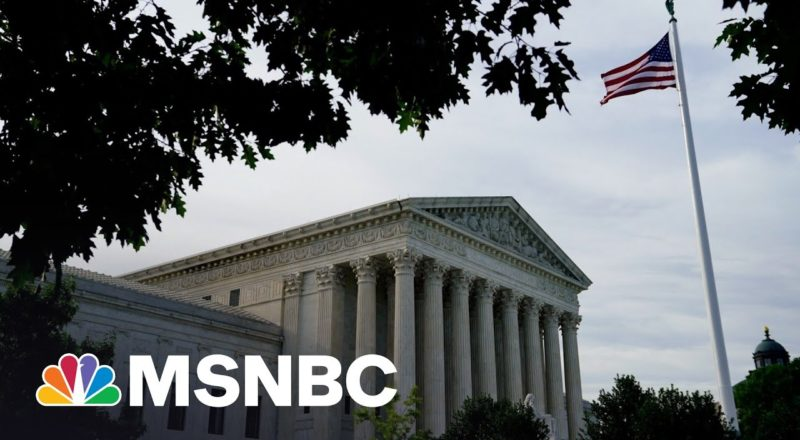 Supreme Court Declines To Take Up Military Draft Case   MSNBC 5