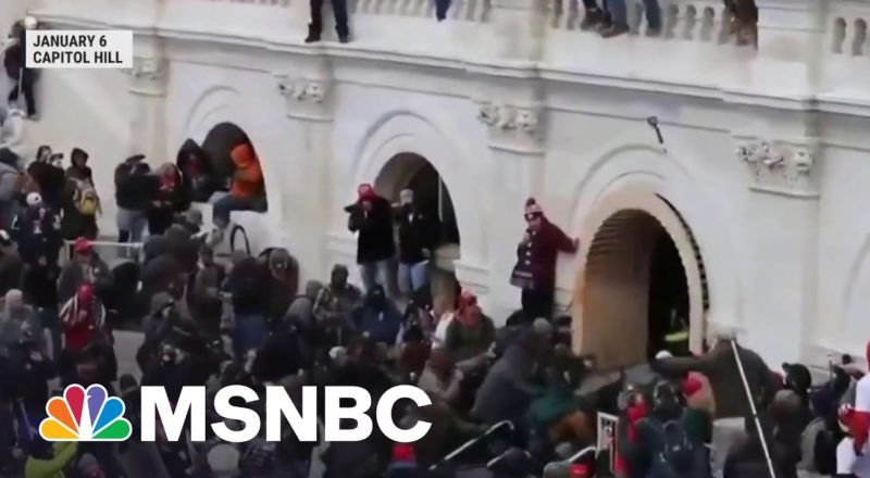 Federal Prosecutors Expect To Charge 550 In The Capitol Riot 1