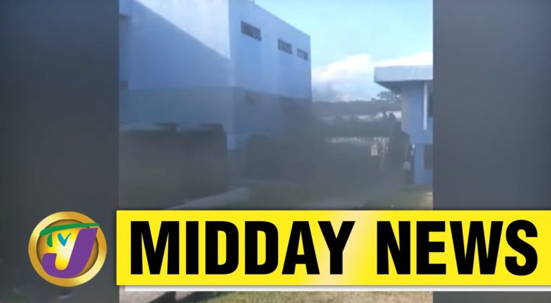 Crime Worries in St. James, Jamaica | Fire at Constant Spring Tax Office | TVJ Midday - June 7 2021 1