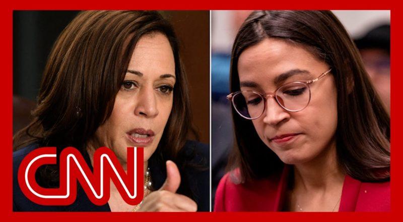 Ocasio-Cortez calls out Kamala Harris after speech on immigration 2