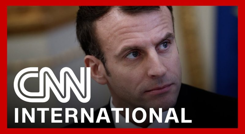 French President Macron gets slapped by member of public 6