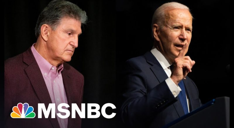 Voting Rights And Biden Agenda Imperiled By Joe Manchin 1