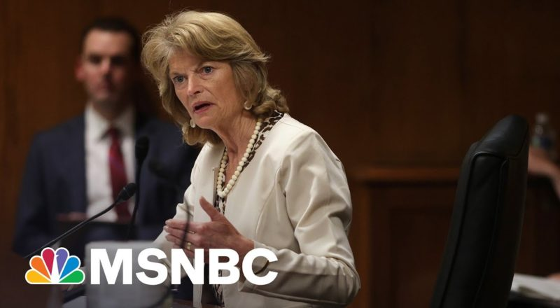 Lisa Murkowski The Only GOP Senator To Support Voting Rights Bill 4